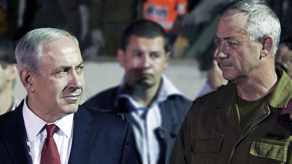 Las fuerzas de Gantz y Netanyahu no llegaron a un acuerdo