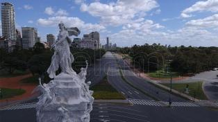 Baja la contaminación atmosférica en ciudades argentinas a casi un mes de la cuarentena