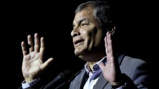 Correa anticipó que no ocupará cargos si gana Arauz