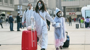 Arribó a Wuhan el primer vuelo internacional desde el inicio de la pandemia