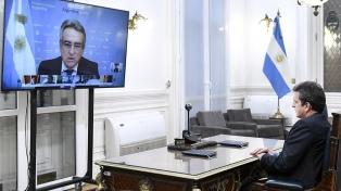 Massa destacó el aporte las nuevas tecnologías para el funcionamiento de la Cámara de Diputados