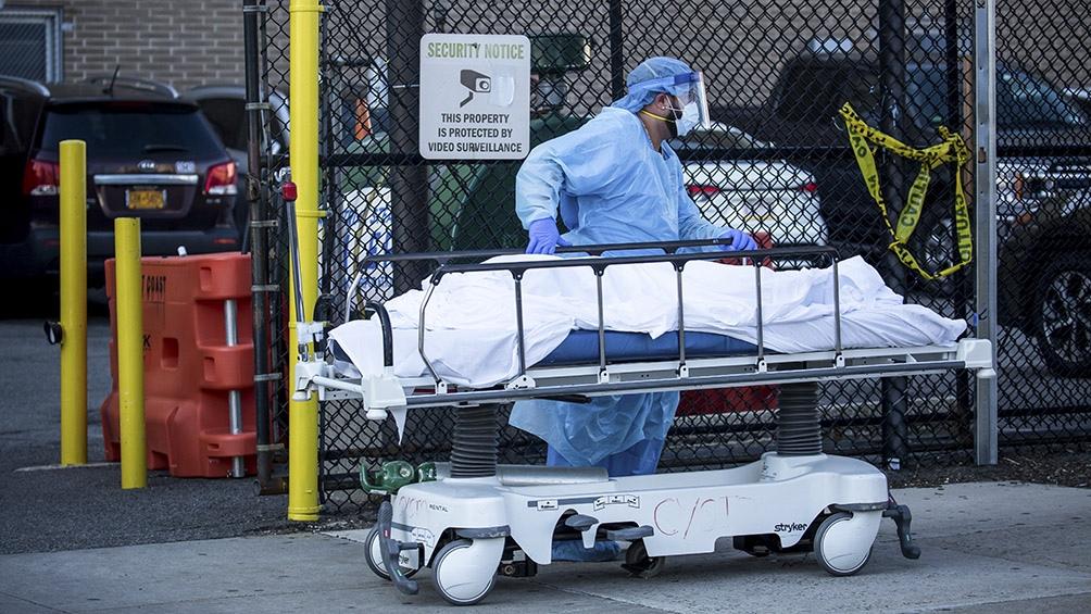 EEUU pasó a ser el país con más muertes a causa del coronavirus en ...