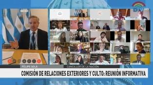Solá aseguró que ya retornaron a Argentina más de 150 mil personas por vía terrestre o por avión