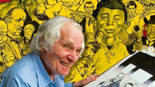"""A los 91 años murió Mort Drucker, ilustrador de la revista humorística """"Mad"""""""