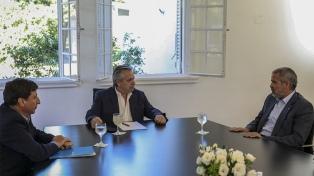 El Presidente analizó con Molinos comprar alimentos directamente a productores