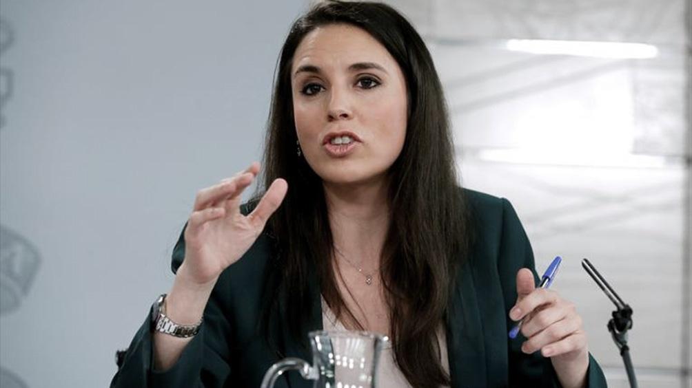 Irene Montero (Unidas Podemos) dijo que seguirá negociando con el PSOE
