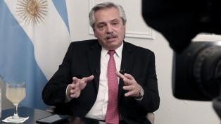 """Fernández, sobre la deuda: """"Es imposible moverse del último esfuerzo que hicimos"""""""