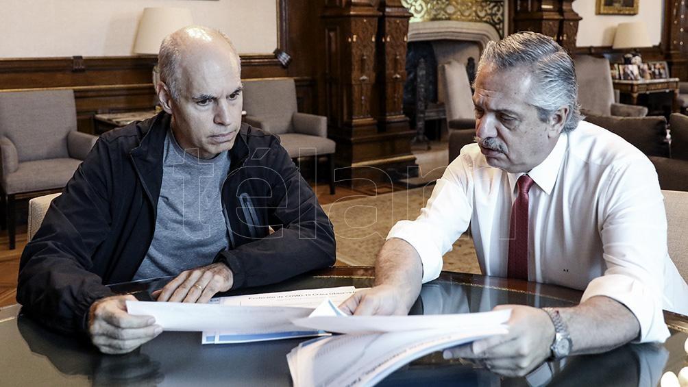 Fernández y Larreta se reunieron varias veces durante la cuarentena para consensuar criterios