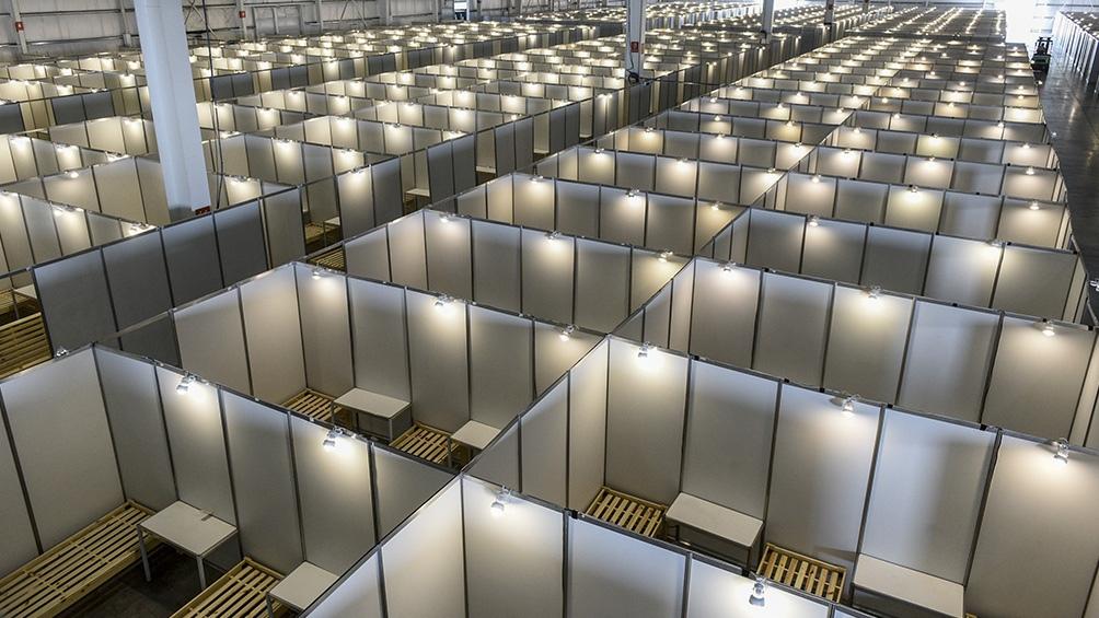 El centro sanitario tiene más de 2.000 camas distribuidas en 821 habitaciones