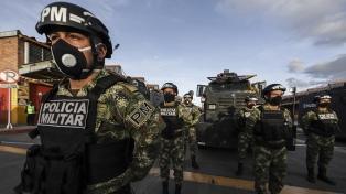 Colombia: militarizan la ciudad de Barranquilla para controlar alza de casos