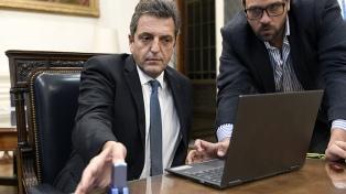 Massa efectivizó la puesta en práctica de la 'firma digital' en la Cámara de Diputados