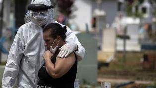 Brasil registró 357 muertos en un día y ya son 3.670 los fallecidos