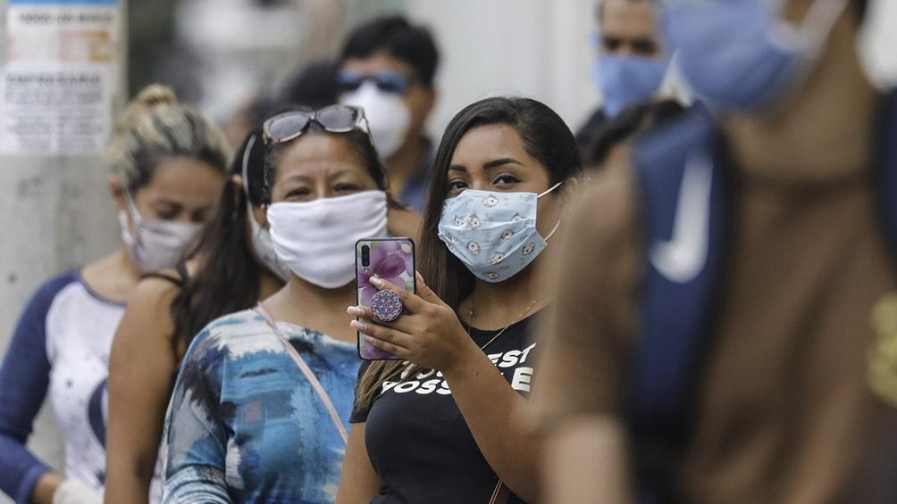 Perú lleva cinco semanas de decrecimiento de los casos de coronavirus