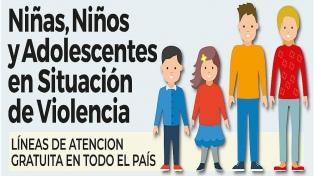 Infografía: cómo proteger los niños y adolescentes de la violencia durante el aislamiento