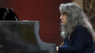 Martha Argerich, la más virtuosa al piano.