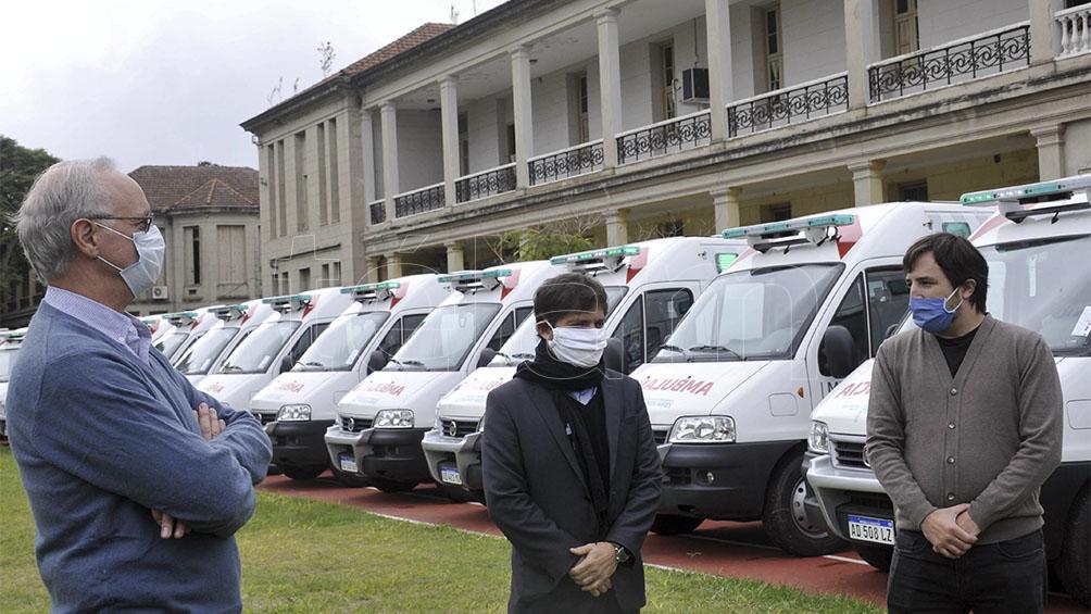 El ministro de Salud bonaerense reafirma que la curva de contagios está aplanada