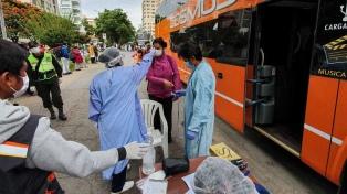 Bolivia registró un nuevo récord de muertes, incluido el médico líder de la lucha antipandemia