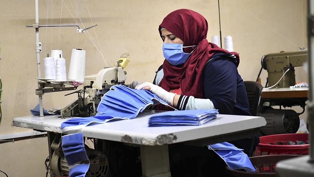 La pandemia de coronavirus profundizó la devastación en Siria.
