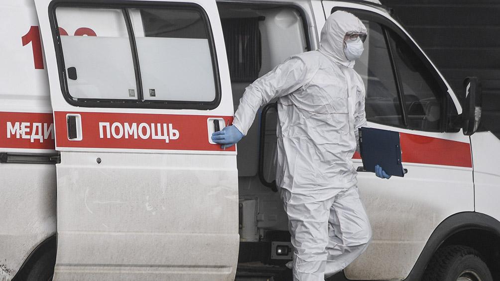 Rusia sumó más de 9.700 nuevos casos de coronavirus en un día