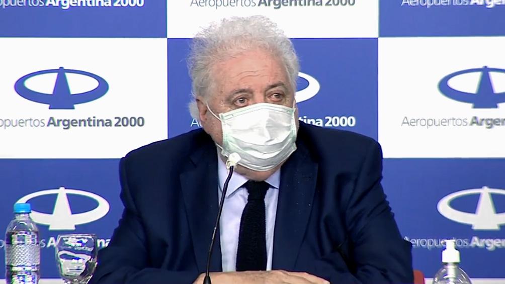 González García dijo que el aislamiento seguirá de distinta manera, con otro tipo de fases