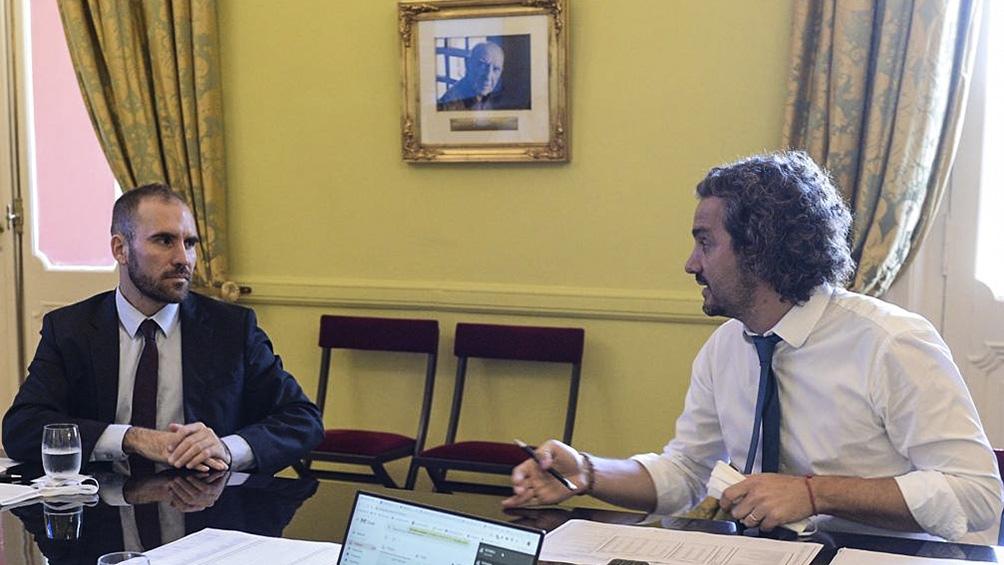 Cafiero negó disputas internas y defendió la gestión de Martín Guzmán en Economía.