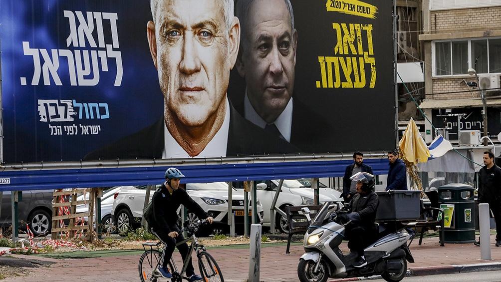 Gantz y Netanyahu terminaron formando un efímero gobierno tras dos intentos fallidos