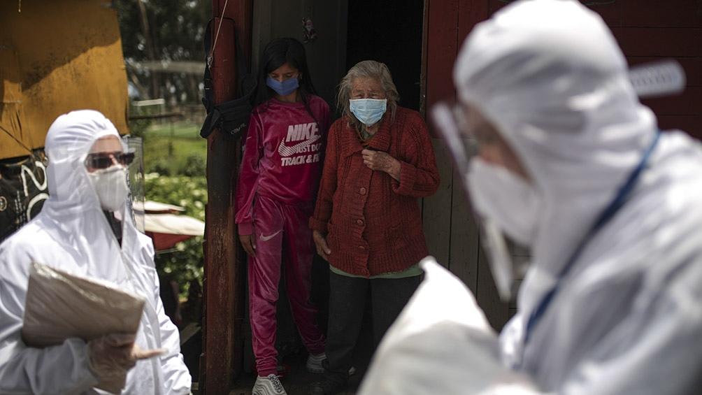 El epicentro de la pandemia es Bogotá