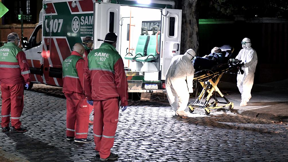 Evacuaron un geriátrico del barrio porteño de Belgrano por casos de coronavirus