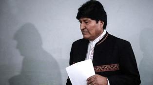 """Evo Morales pidió apoyo al MAS frente a """"la unidad de la derecha"""""""