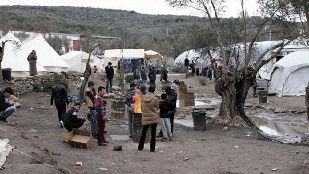 El drama de los refugiados se acentuó con la pandemia.