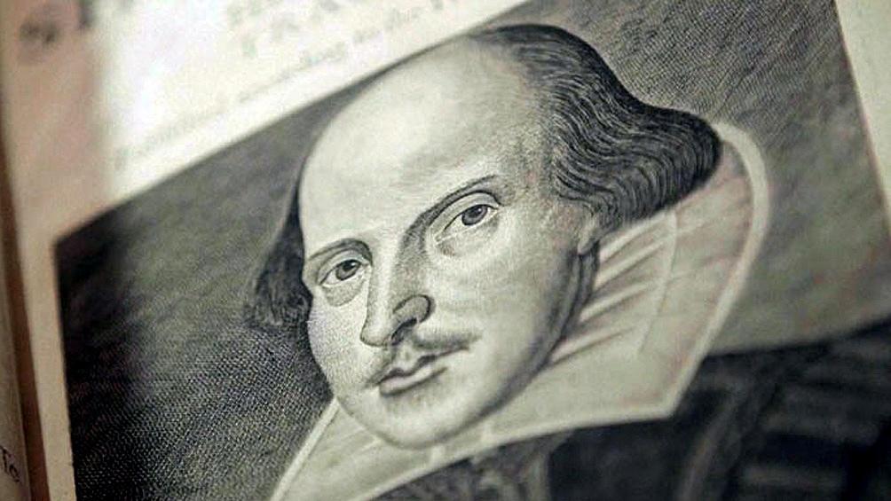 El escritor William Shakespeare.