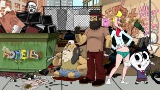 """La animación chilena entrega con """"Homeless"""" un corrosivo relato sobre las crisis"""