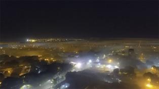 Un incendio afectó a más 60 hectáreas en Posadas y el humo cubrió a toda la ciudad