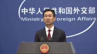 """China tacha de """"irresponsable"""" a Pompeo, el secretario de Estado de Trump"""