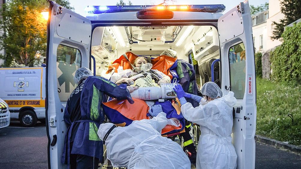 Francia reportó 4.987 casos de coronavirus en las últimas 24 horas