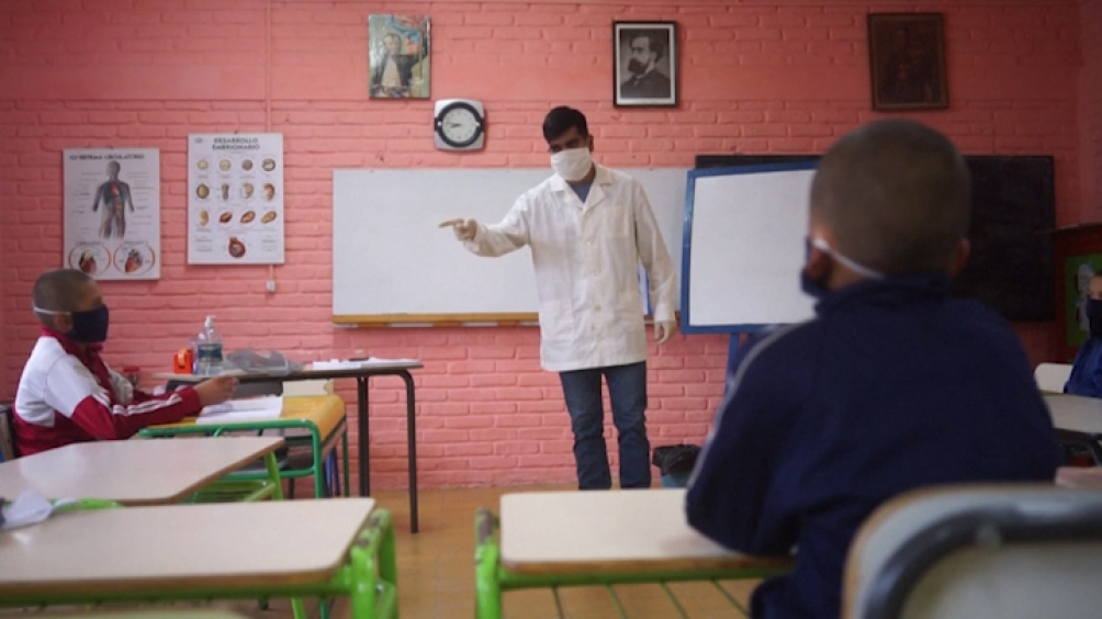 Uruguay aseguró que el 90% de los niños que estaban habilitados a volver a las clases presenciales lo hicieron