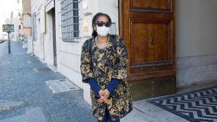 Llegó al Vaticano la nueva embajadora argentina, María Fernanda Silva