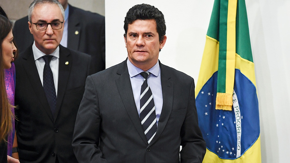 Tras lograr la condena de Lula, Moro asumió como ministro de Justicia de Bolsonaro.