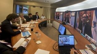 Fernández recibió el renovado respaldo de los gobernadores a las medidas contra la pandemia