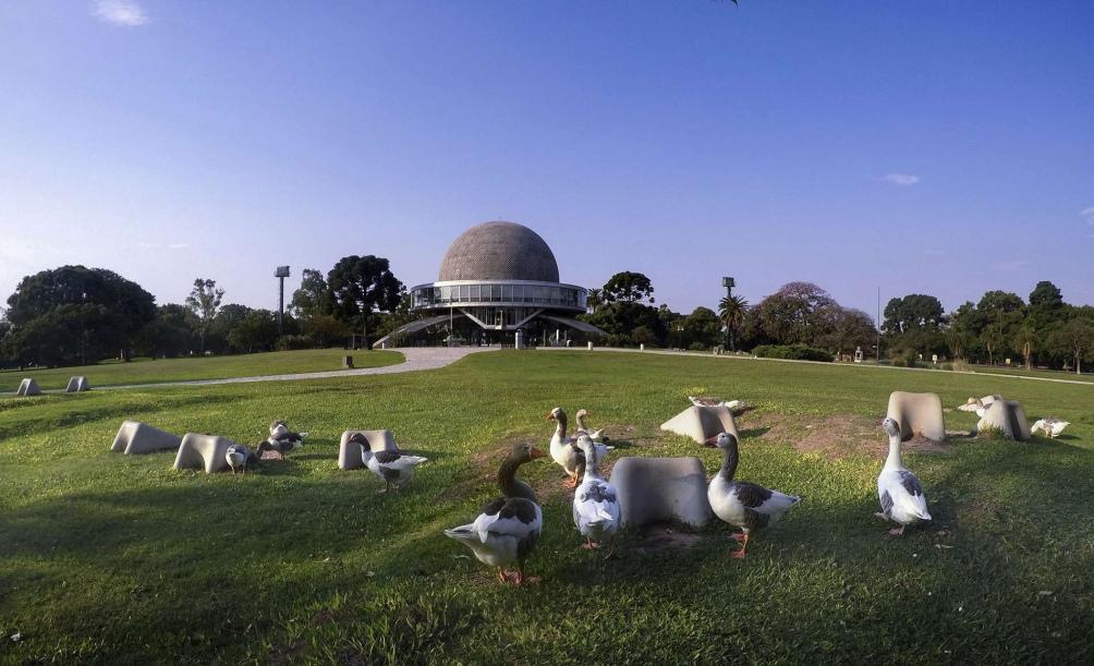 Planetario Galileo Galilei. Foto: Alejandro Santa Cruz.(Télam)