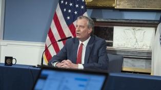 """El alcalde de Nueva York califica de """"abominable"""" el hallazgo de cadáveres apilados en un camión"""