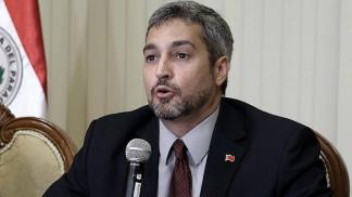 El presidente Mario Abdo Benítez.