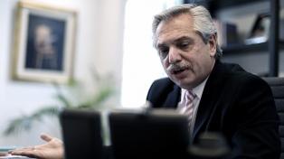 """Alberto Fernández: hay advertencias de que acreedores """"están tirando de la cuerda más de lo debido"""""""