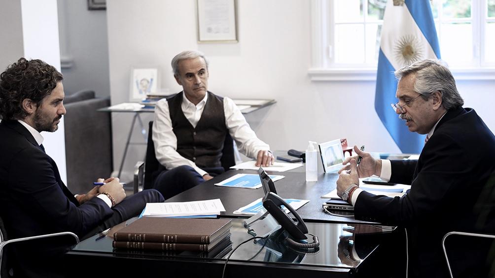 Fernández se comunicó por videoconferencia con Piñera en abril para evaluar los efectos de la pandemia.