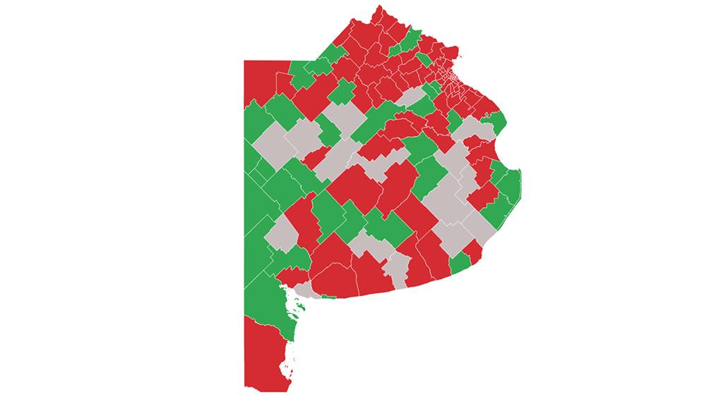 Los municipios bonaerenses que autorizan las salidas de esparcimiento