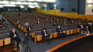 Cuatro provincias abren sus sesiones legislativas, en el marco de la pandemia