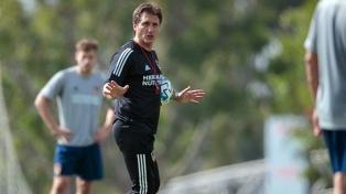 """""""Estoy ilusionado con ir al Mundial"""", dijo Guillermo Barros Schelotto al asumir como DT de Paraguay"""