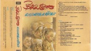 """Tres décadas de """"Ayudame a mirar"""", el álbum con el que Baglietto empezó a verse en la música popular"""
