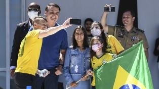"""Bolsonaro dijo que llegó """"al límite"""", en un nuevo acto contra el Congreso y la Corte Suprema"""