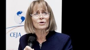 Otra jueza le pide a Hornos que presente su renuncia a la presidencia de Casación